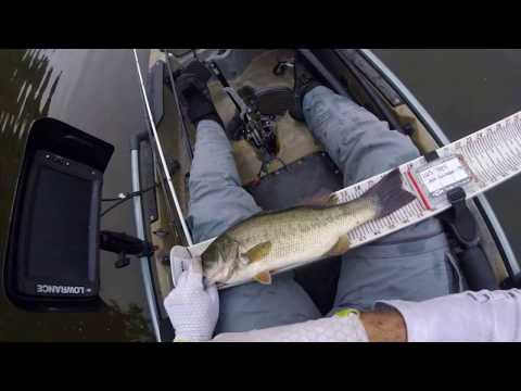 Lake Gilmer ETXKF Kayak Bass Tournament [Top 10 Finish]
