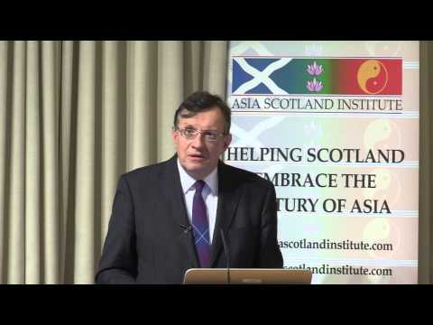 Asia Scotland Institute Sir David Warren Presentation