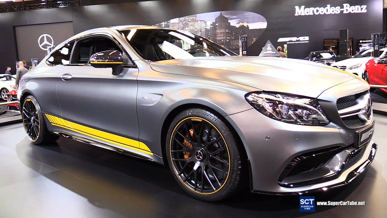 Mercedes amg c 63 s coupe edition 1 2016 wallpapers and hd images - 2017 Mercedes Amg C63 S Edition 1 Exterior Turnaround 2016 Montreal Auto Show Youtube