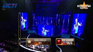 "Mega Mauro ""Chandelier"" Sia - Rising Star Indonesia Best 14 Eps 15"