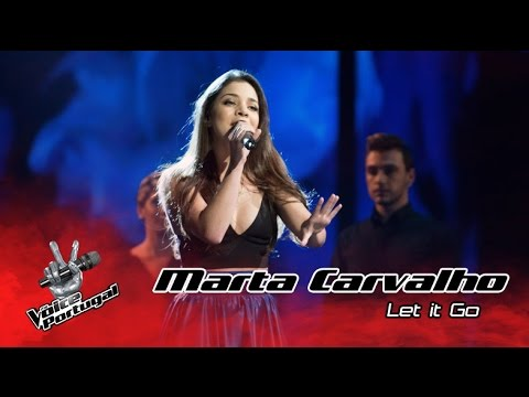 Marta Carvalho - Let it Go (James Bay) | Gala | The Voice Portugal
