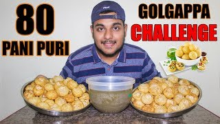 The Fastest Pani Puri / Golgappa Eating Challenge Ever | World Fastest | Food Challenge India