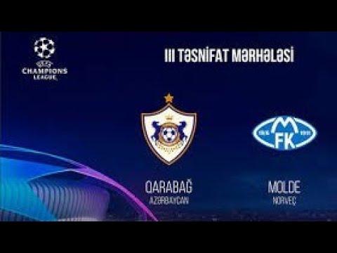 Прогноз на матч Лиги Чемпионов Карабах - Мольде смотреть онлайн бесплатно 16.09.2020
