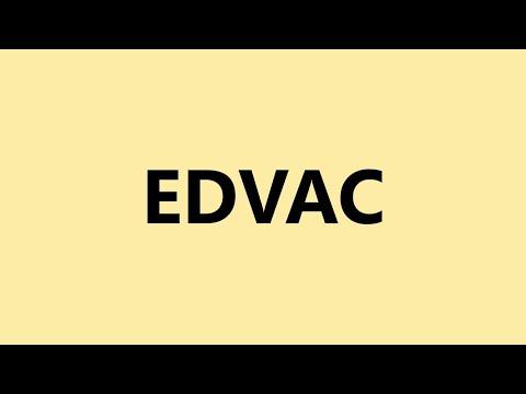 Full Form Of Edvac Youtube