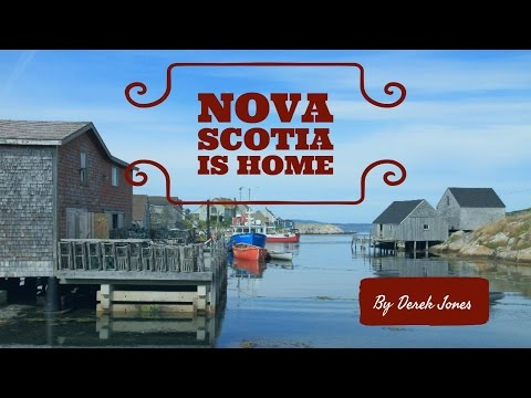 Scenery and Lobster Fishing in Nova Scotia, Canada