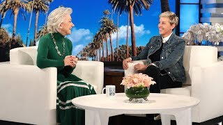 Dame Helen Mirren Finds Out She39s Only 72 Years Old