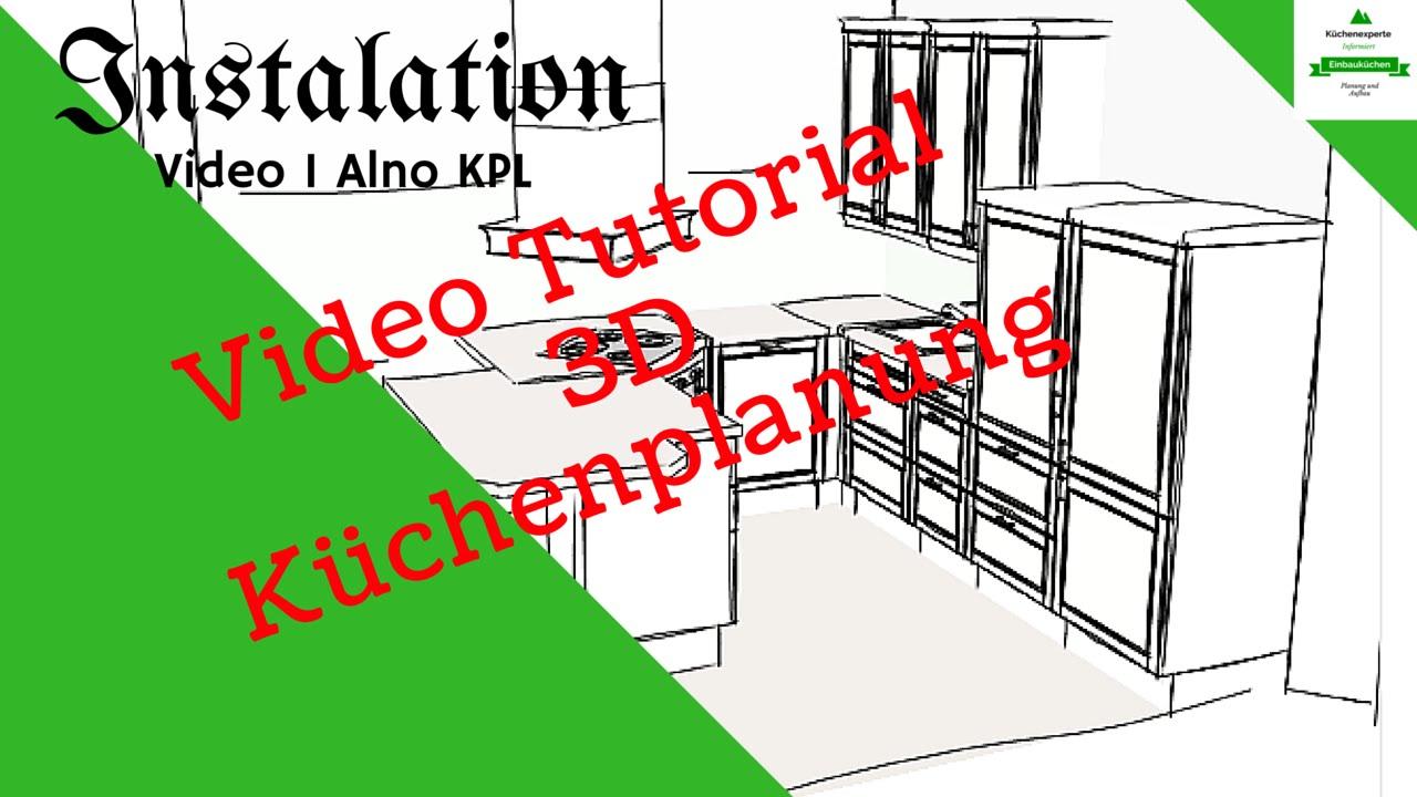 Tutorial #Instalation Alno 3d Küchenplaner Video1 - YouTube