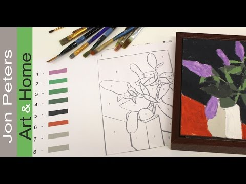 How To Mix Colors Paint By Numbers Episode 2 Youtube