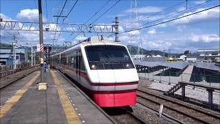東武鉄道特急りょうもう号に乗車 赤城→館林 2018.5.4