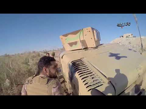 Iraq War 2017 - Combat Footage  Iraqi Army & Paramilitary in Heavy Firefights against ISIS!