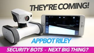 World's First HOME SECURITY ROBOT - Appbot Riley - BEST of 2017