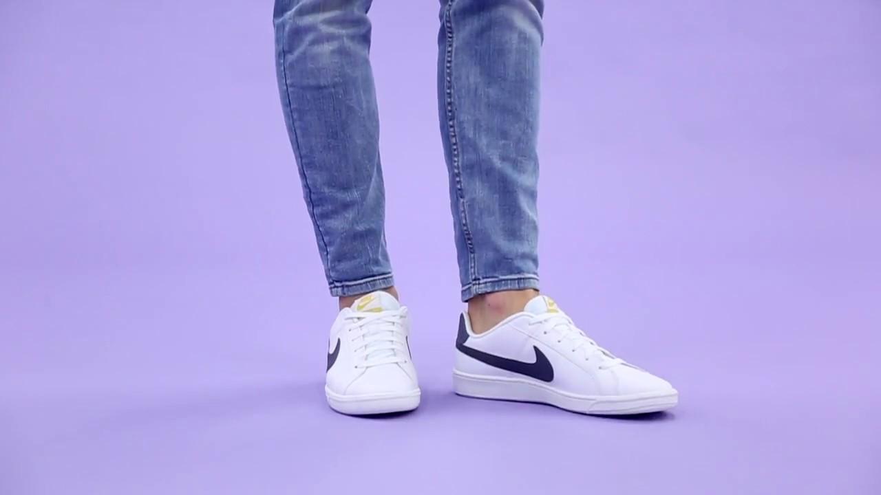 dar a entender Mona Lisa dolor  Deportivas Court Royale blanco logo azul Nike