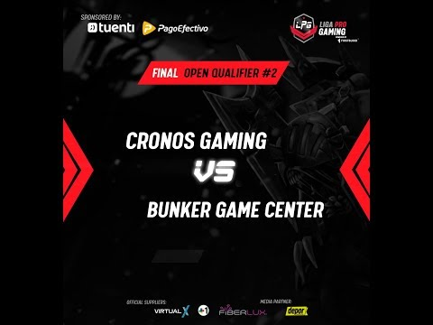 Liga Pro Gaming 2da Final Qualifiers Bunker Lancenter vs Cronos Lan Center