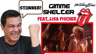 The Rolling Stones - Gimme Me Shelter (live) feat.. Lisa Fischer | REACTION