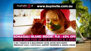 Buyinvite Travel: Sonaisali Island Resort Fiji Thumbnail