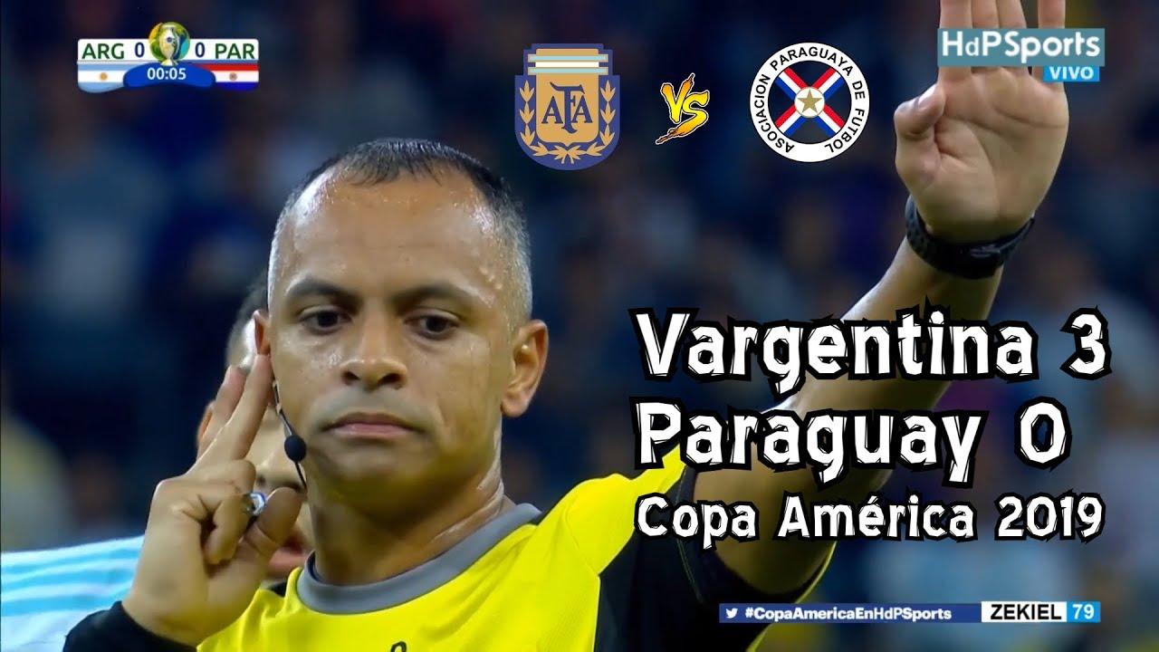 Argentina 3 Paraguay 0 - Copa América 2019 (PARODIA)