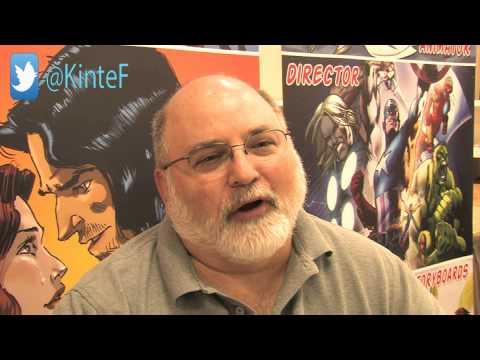 Artist Steve E Gordon @ San Fernando Valley Comic Book Convention