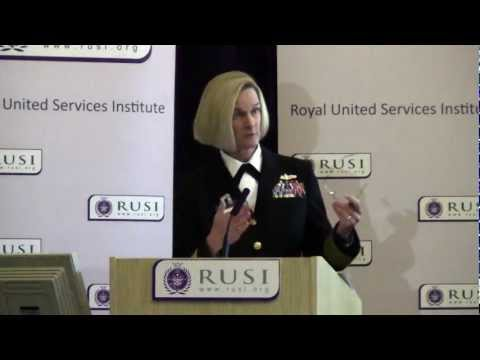 Vice Admiral Carol Pottinger on Women in Defence
