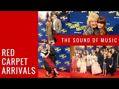 RED CARPET ARRIVALS: The Sound Of Music, Melbourne Australia 2016