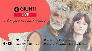 """GiuntiLive con Marianna Corona, """"Fiorire tra le rocce"""""""