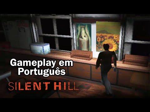 SILENT HILL de PS1 pela Primeira Vez! Em Português PT-BR!