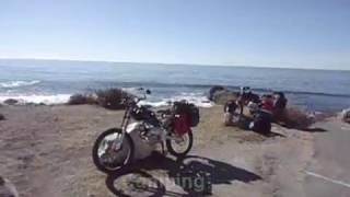 Motoped Survival Bike - 500 mile ride: Santa Cruz to Cambria (pt 2)