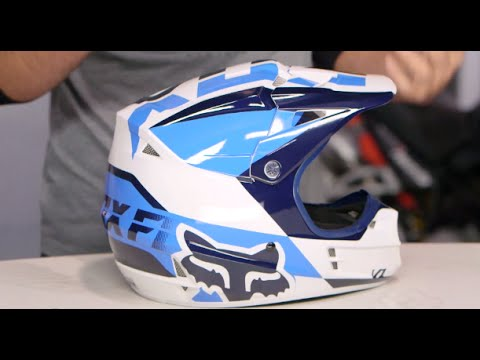 Fox Racing V1 Mako Helmet Review at RevZilla.com