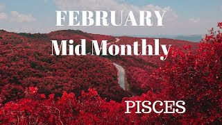 PISCES Goodbye Loneliness ❤️Mid February 2019❤️