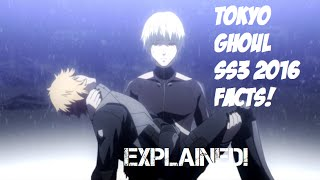 Tokyo Ghoul √A Ending EXPLAINED! & Season 3 - Tokyo Ghoul :re Facts! [1080p HD]