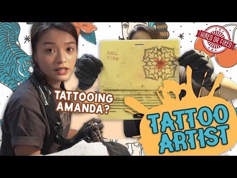 Hired Or Fired: Tattoo Artist For A Day