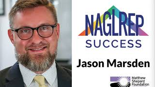 NAGLREP Success Jason Marsden Matthew Shepard Foundation Executive Director