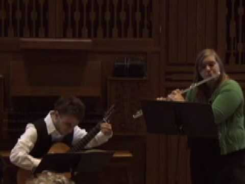 Giuliani, Sonata Op, 85 (flute & Guitar)
