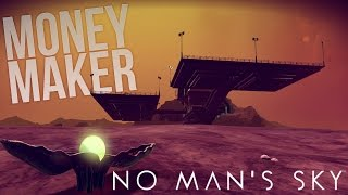 No Man's Sky - Illegal Money-Making Pearl Planet! Atlas Facility - No Man's Sky PC Gameplay