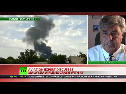 Why was MH17 flying over a warzone?