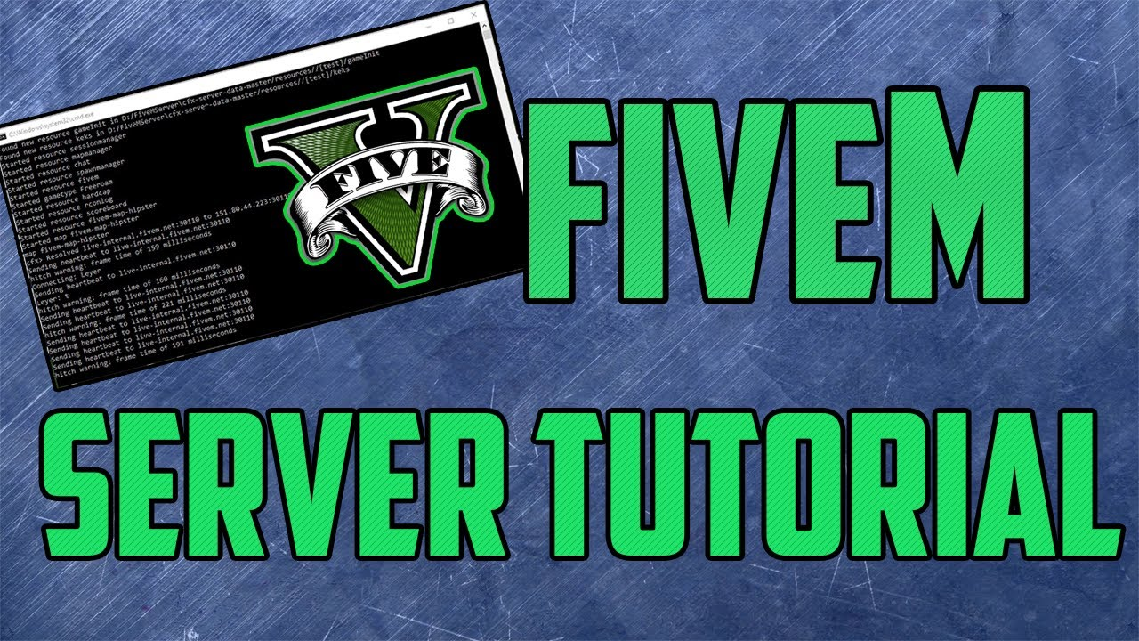 How To Create a FiveM SERVER | FXServer UPDATED