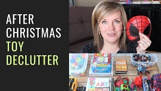 After Christmas Toy Declutter & Organization Tips (2019 Organize Toys Series Ep. 14)