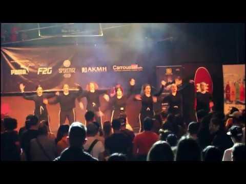 Ravens crew show on Breakin Bad contest 15/4/2018 (Flow Dance Lab)
