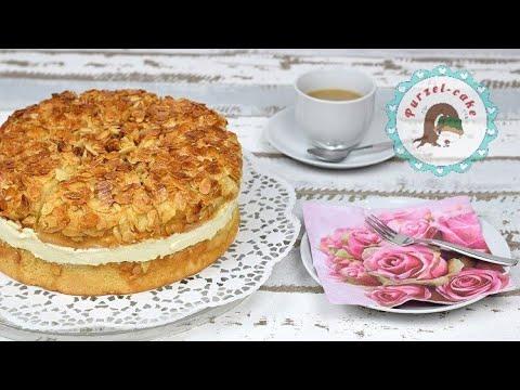 Bienenstich ein Klassiker unter den Torten / Beesting Cake / Bienenstich Torte