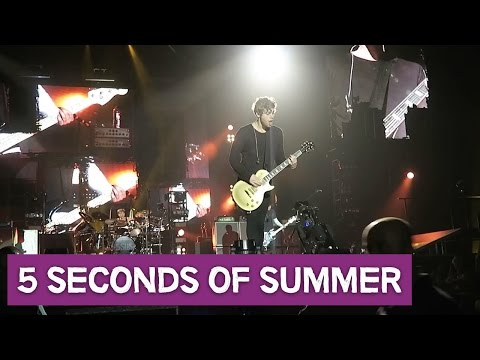 5 SECONDS OF SUMMER - DAG #1 - CONCERTVLOG #6 - Dreaming Out Loud