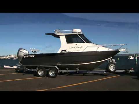 Surtees Boats 700 Game Fisher Hardtop Enclosed