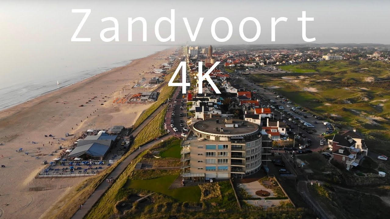 Flying Over Zandvoort The Netherlands In 4k Youtube