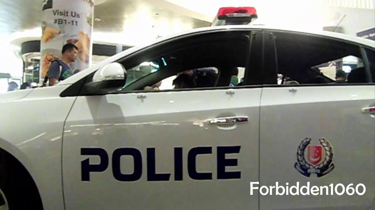 Spf Qx1208j Chevrolet Cruze Police Car Premium Showcase Youtube