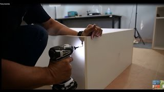 Garage Storage Cabinet Pantry Assembly Video