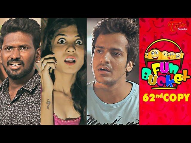 Fun Bucket | 62nd Copy | Funny Videos | by Harsha Annavarapu | #TeluguComedyWebSeries