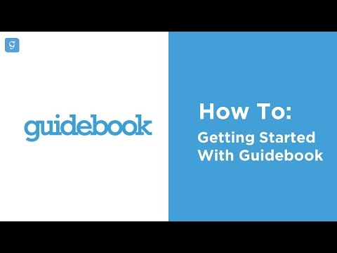 How to Get Started with Guidebook Builder