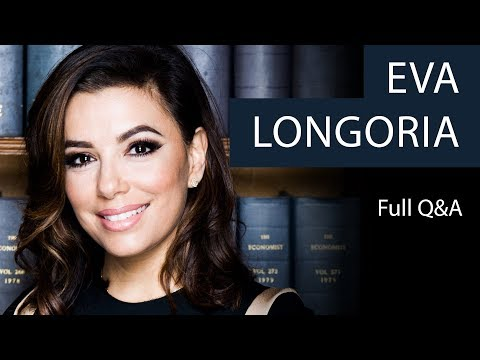 Eva Longoria | Full Q&A | Oxford Union