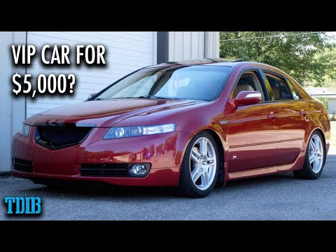 "Acura TL Review! The Best ""First Car"" Ever For Under $10,000?"