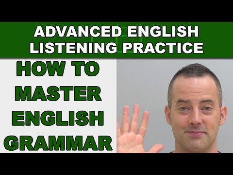 How To Master English Grammar