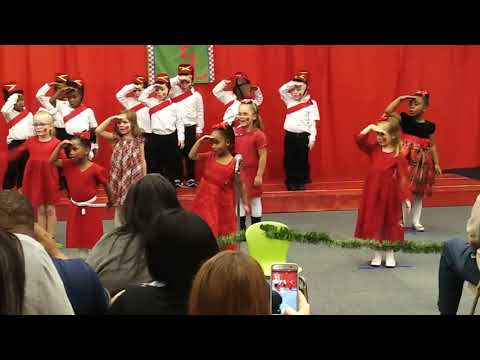 Zachary Early learning center Christmas play 2017