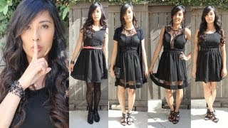 Loobook: The Little Black Dress - Pretty Little Liars Inspired Outfits